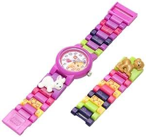 LEGO Kids' 9005190 Friends Stephanie Plastic Watch with Interchangeable Link Bracelet