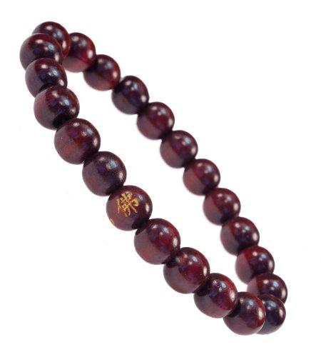 PURPLE WHALE Buddhist Stretch Bracelet