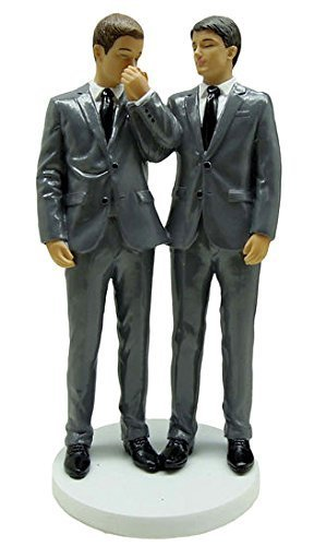December Diamonds Wedding Figurine - Grooms