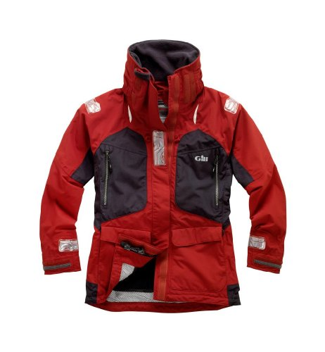 Gill OS22 Offshore Jacket Womens (Red, 6) OS22JWR6
