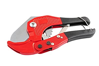 Wadoy PVC PEX CPVC Pipe Cutter Fast Type Hand Tool Single Stroke Plastic Pipe and Tubing Cutter