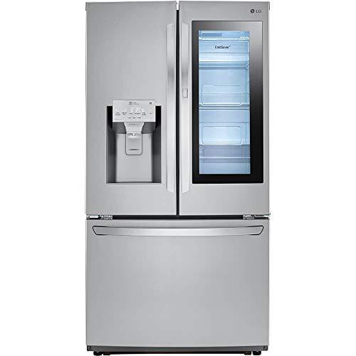 LG LFXS26596S 26 Cu. Ft. Stainless InstaView Door-in-Door French Door Refrigerator (Best 26 Cu Ft Refrigerator)
