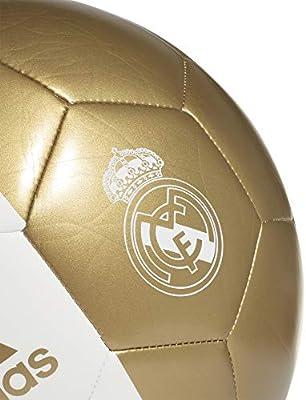 adidas RM CPT Soccer Ball, Mens, White/Dark Football Gold, 5 ...