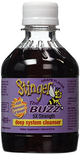 2 Stinger The Buzz 5x Strength 1 Hour Total Detox – 8oz liquid each