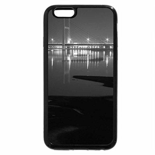 iPhone 6S Plus Case, iPhone 6 Plus Case (Black & White) - Amazing Bridge