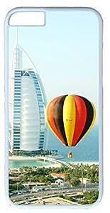 Dubai Hot Air Balloon Ride Customized Hard Shell White iphone 6 plus Case By Custom Service Your Perfect Choice