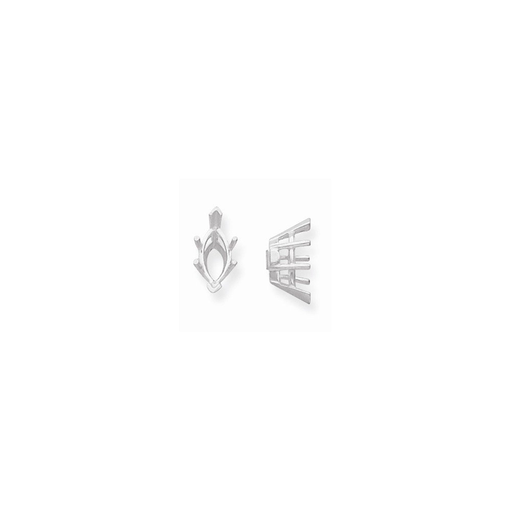 14kw Marquise 6-Prong V-End 1.50ct Setting