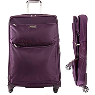Biaggi Contempo Foldable 28  4 Wheel Upright Purple