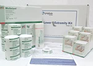 Lymphedema Pre-packaged Single Leg Bandage Kit