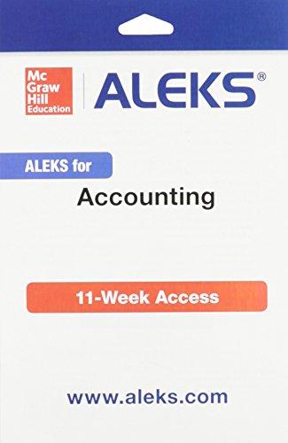 Accounting (Aleks 11 Wk Access Card)