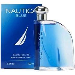 Nautica Blue Eau De Toilette Spray for Men, 3.4 fluid ounce