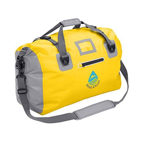 Såk Gear DuffelSak Waterproof Duffel Bag (Yellow 40L)
