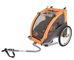 Monz Vantly - Remolque infantil para bicicleta (1 plaza)