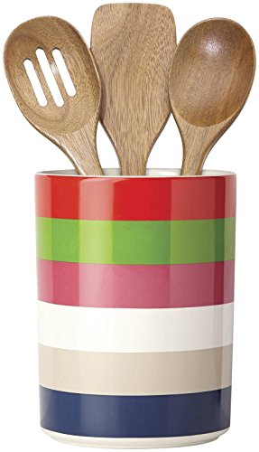 Kate Spade New York ALL IN GOOD TASTE RAINEY Utensil Crock, White