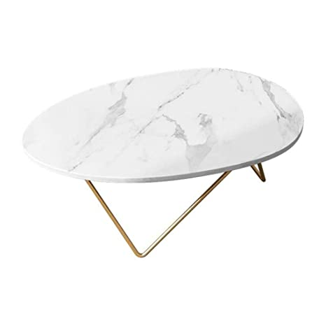 Groovy Amazon Com Contemporary Oval Coffee Table Modern Cocktail Ncnpc Chair Design For Home Ncnpcorg