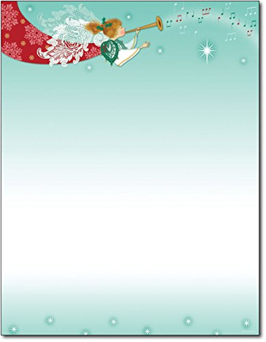 (Herald Angel Christmas Paper - 80 Sheets)