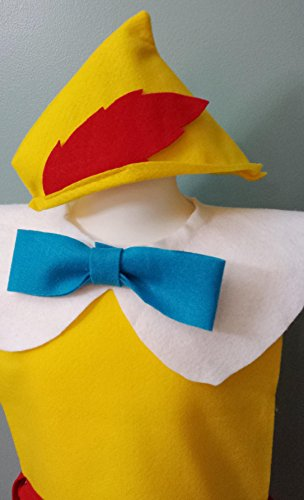 Pinocchio Costume Set - Baby / Toddler / Kids / Teen / Adult Sizes ()