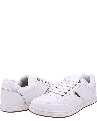Levis Mens Gliroy Pebble Sneakers,517486W87 Ofwhite