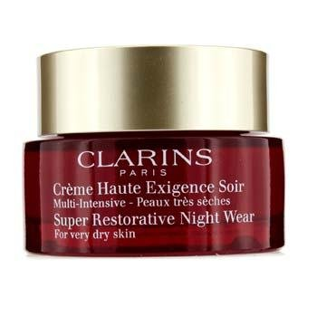 Super Restorative Night - All Skin Types by Clarins for Unisex - 1.6 oz Night ()