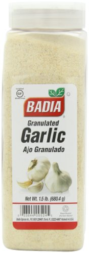 Badia Granulated Garlic, 1.5-pounds (Pack of 6) ()