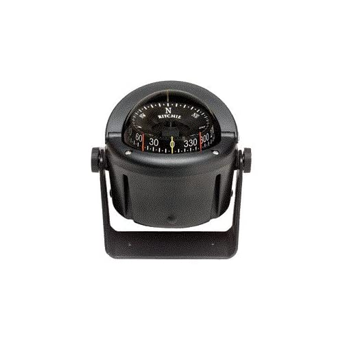 Image of Boat Compasses Compass, Bracket Mount, 3.75' Combi, Blk