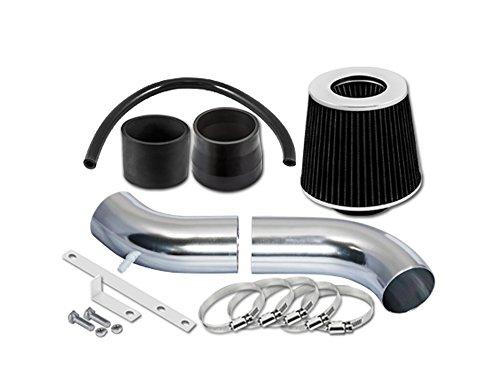 ST Racing Black Short Ram Air Intake Kit + Filter 95-00 for Chrysler Sebring JX/JXi Convertible Cirrus 2.5L - Chrysler 1996 Jx Sebring Convertible
