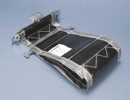 Adjustable Strap, Horizontal & 3/8 In Rod