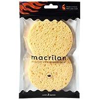 Kit com 2 esponjas para limpeza facial - EP11, Macrilan