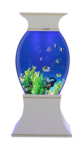 Triton Valorie - 50 Gallon Aquarium - White (Fish Tank Starter Kit 50 Gallon compare prices)