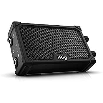 IK Multimedia iRig Nano Amp pocket guitar amplifier with integrated iRig circuit (black)
