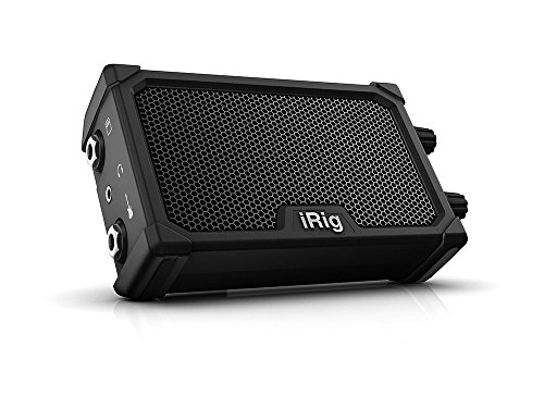 IK Multimedia iRig Nano Amp pocket guitar amplifier with integrated iRig circuit (black) by IK Multimedia
