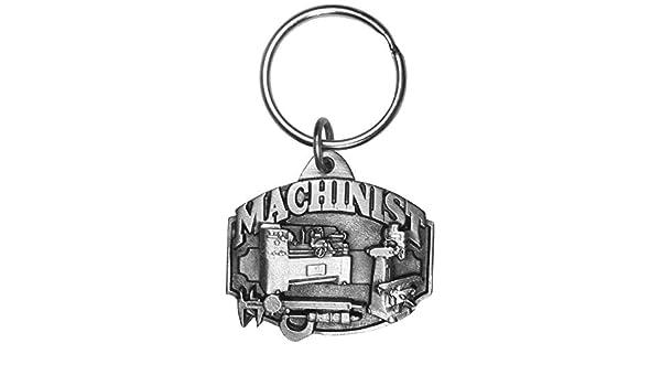 Siskiyou Machinist Antiqued Key Chain