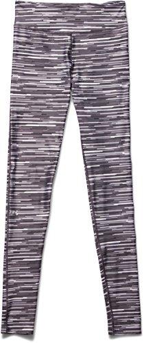 Under Armour Heatgear Printed - Pantalones de running para mujer Blanco