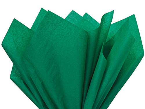 Emerald Green Tissue Paper 15 Inch X 20 Inch - 100 Sheets premium tissue paper A1 bakery supplies ()