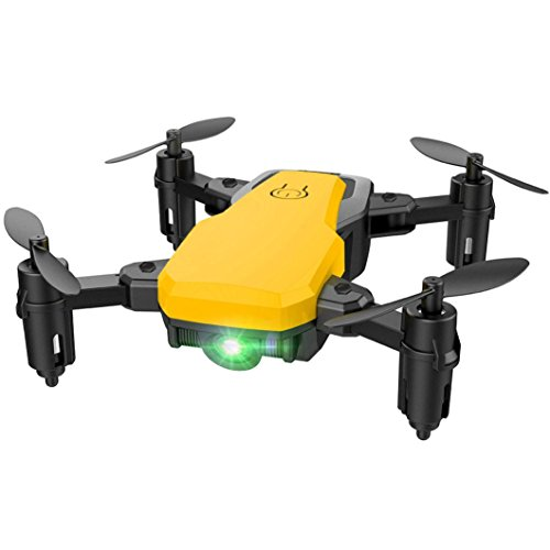 RC Drone,Kasien SG800 Mini Foldable 2.4Ghz RC Quadcopter Pocket Helicopter Drone Altitude Hold (Yellow) by Kasien