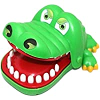 Creative Practical Jokes Mouth Tooth Alligator Hand Children's Toys Family Games Classic Biting Hand Crocodile Game For…