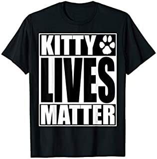 Funny Black Cats Matter BLM Halloween T-shirt | Size S - 5XL