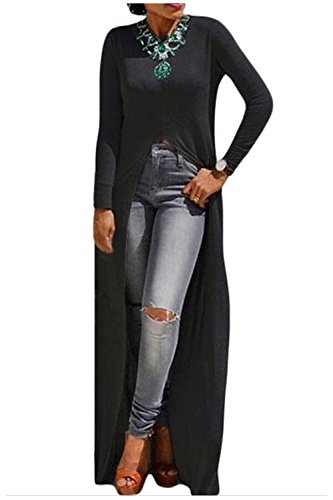 Buy long tight dress with split - 1