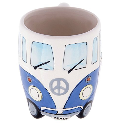 Volkswagen - Blue Ceramic Shaped Coffee Mug / Cup