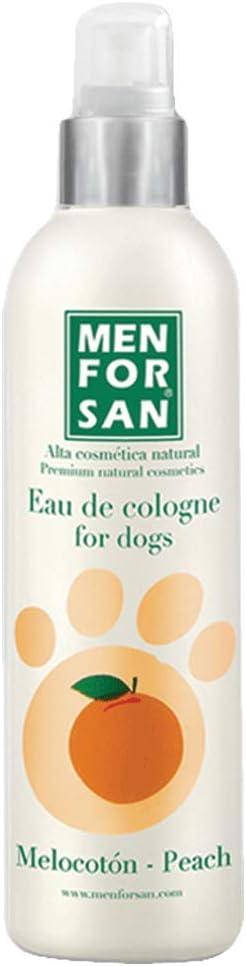 MENFORSAN Agua de Colonia para Perros Melocotón - 125 ml