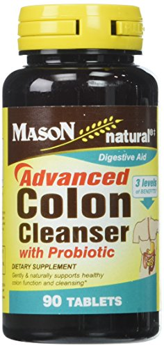 Mason Vitamins Advanced Colon Cleanser Tablets, 60 Count