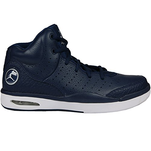 Nike Air Jordan Flight Tradition Mens Hi Top Basketball Trainers 819472 Sneakers Shoes (US 8.5, Midnight Navy White 402)