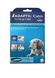 ADAPTIL Calm On-The-Go Collar for Dogs, Medium to Large