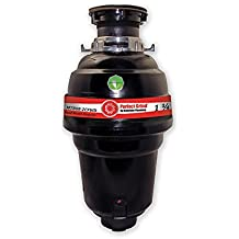 Mountain Plumbing MT888-2CFWD Perfect Grind Waste Disposer Continuous Feed, 1-1/4 HP
