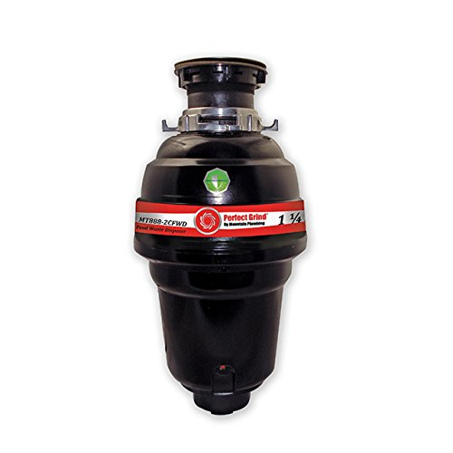 Mountain Plumbing Waste Disposer (Mountain Plumbing MT888-2CFWD Perfect Grind Waste Disposer Continuous Feed, 1-1/4 HP)