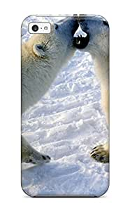 SusanEarlFarr Case Cover For Iphone 5c - Retailer Packaging Polarbears Protective Case