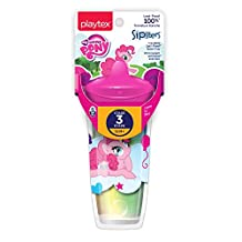 Playtex Baby Sipsters Spill-Proof My Little Pony Kids Spout Cup, Stage 3 (12+ Months), Pack of 1 Cup