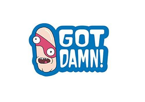 GOT Damn! NOOB NOOB Decal - Officially Licensed Artwork Sticker
