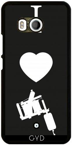 Funda para Htc U11 - Me Encanta Tatuaje by Max Taylors