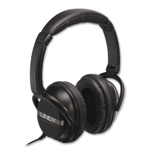 Lindy 20425 Active Noise Canceling Headphones Review